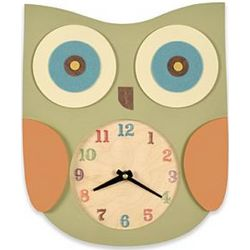 Wooden Wall Animal Clock
