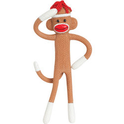 Bendable Sock Monkey Toy