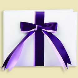 2-Ribbon Guest Book