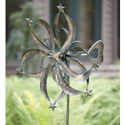 Metal Stars Wind Spinner