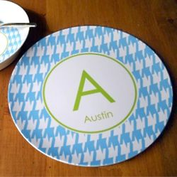 Kid's Personalized Name and Design Dinner Plate