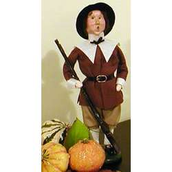 Pilgrim Man Caroler