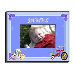 Personalized Boy's Blocks Picture Frame