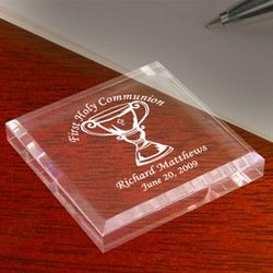 Personalized Chalice Keepsake & Paperweight