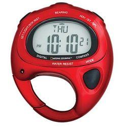 Compass Clip Watch