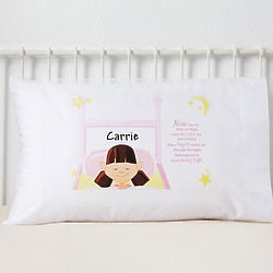 Personalized Kid's Bedtime Prayer Pillowcase
