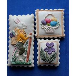Bunny with Basket Cookie Gift Tin