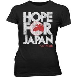 Hope for Japan Tsunami American Red Cross Junior T-Shirt