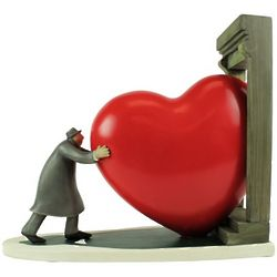 Bringing Love Home Figurine