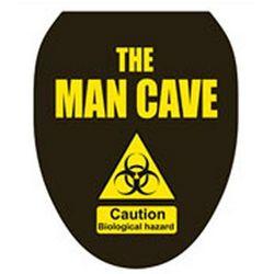 Man Cave Toilet Tattoo