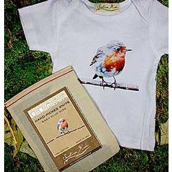 Baby Blue Bird 3-6 Months Infant Tee