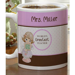 Personalized Precious Moments Teacher Coffee Mug