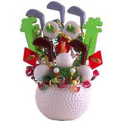 Fore the Links Lollipop Bouquet