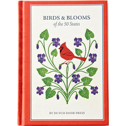 Birds and Blooms of the 50 States Book