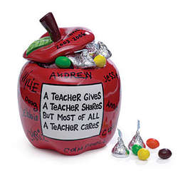 Teacher Jar -Personalized by Students