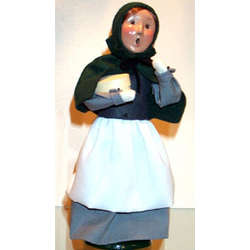 Pilgrim Girl Caroler