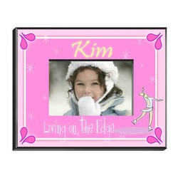 Personalized Ice Skater Picture Frame