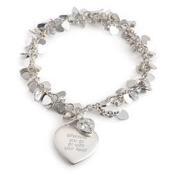 Flutter Heart Bracelet