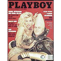 Pamela Anderson Autographed August 1993 Playboy Magazine