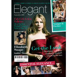 Personalized Fashion Fake Magazine Cover