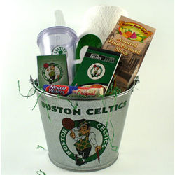 Boston Celtics Pail Gift Set