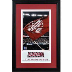 Alabama Crimson Tide 2011 BCS National Champions Framed Print