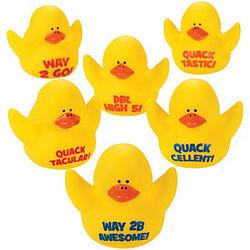Motivational Rubber Duckies