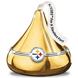 Hershey's Kisses Pittsburgh Steelers Music Box