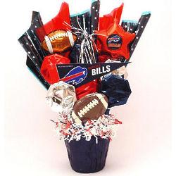 Buffalo Bills Football CookiePot Bouquet