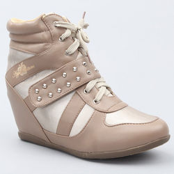 Junia Studded Wedge Sneaker