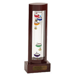 Engraved Galileo Decorative Thermometer