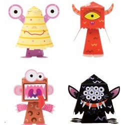 Build Your Own Bobble-Head Monsters