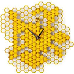 Busy Bee Honeycomb Wall Clock