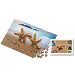 Personalized Starfish Couple Puzzle