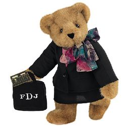 "15"" Lady Accountant Teddy Bear"