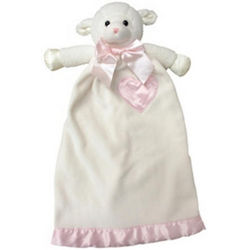 Personalized Pink Lovie Lamb