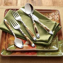 Natural Bone Flatware