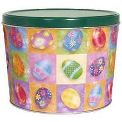 Easter Eggs Design Gourmet Popcorn Gift Tin