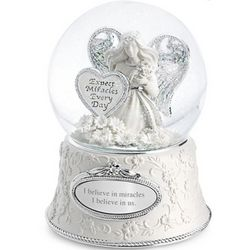 Miracle Angel Snow Globe
