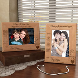 Personalized Forever My Mother Wooden Picture Frame