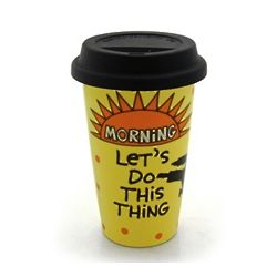 Morning Karate Eco Travel Mug