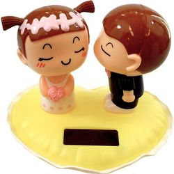 Solar Power Bride and Groom Motion Toy