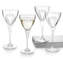 Fusion Wine Glasses with Monogram