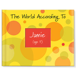 The World According To Personalized Children's Book Kit