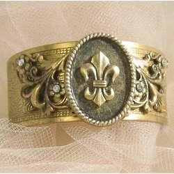 Fleur de Lis Cuff Bracelet