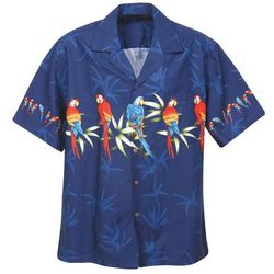Parrot Hawaiian Camp Shirt