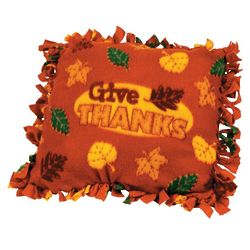Give Thanks Tied Pillow Craft Kit