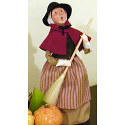 Pilgrim Woman Caroler
