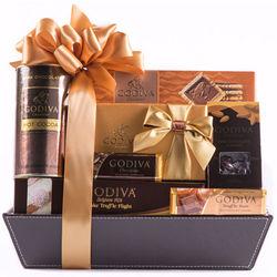 Godiva Gold Gift Basket