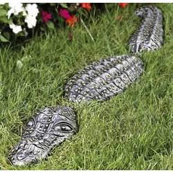 Pewter Lawn Gator